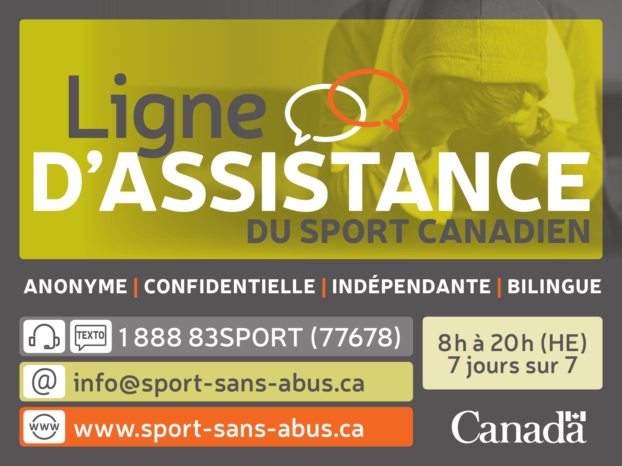 Ligne D'assistance du sport Canadien