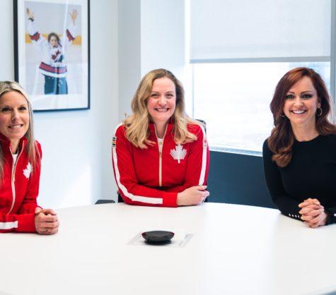 Célébrant la Journée internationale des femmes avec le Comité olympique canadien