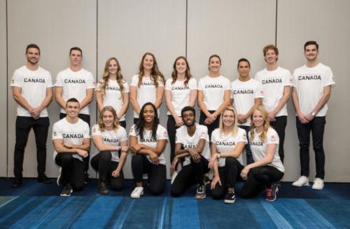 Journée des médias d'Équipe Canada pour Tokyo 2020
