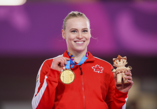 Ellie Black earns 5 medals through Lima campaign