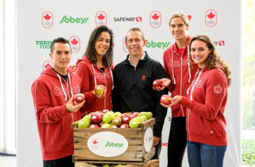 Athletes welcome Sobeys to the Team Canada family